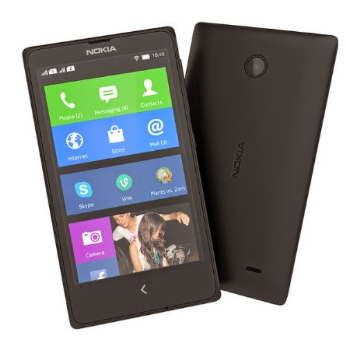 Nokia X RM980 Black Dual SIM - Factory Unlocked - International Version